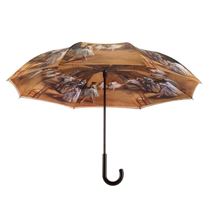 Degas, Ballerinas Reverse Stick Umbrella