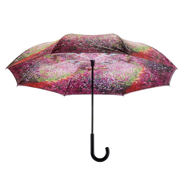 Monet, Garden Reverse Stick Umbrella