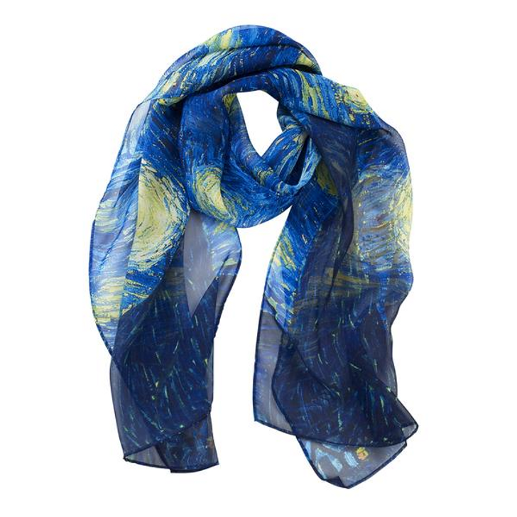 Van Gogh, Starry Night Scarf