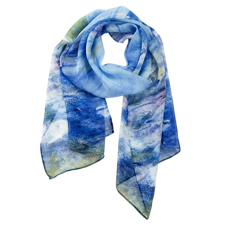 Monet, Water Lilies Scarf