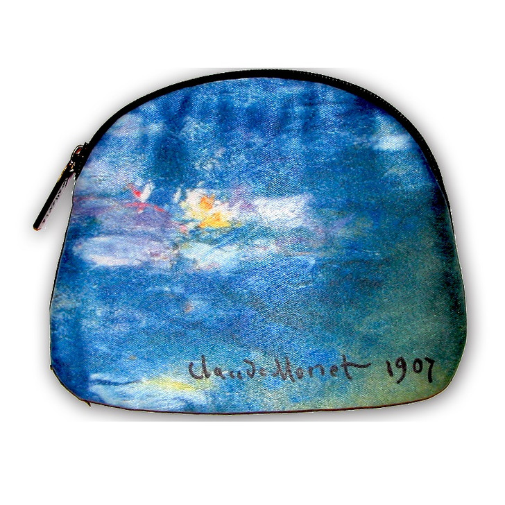 Monet, Water Lilies Cosmetic Bag