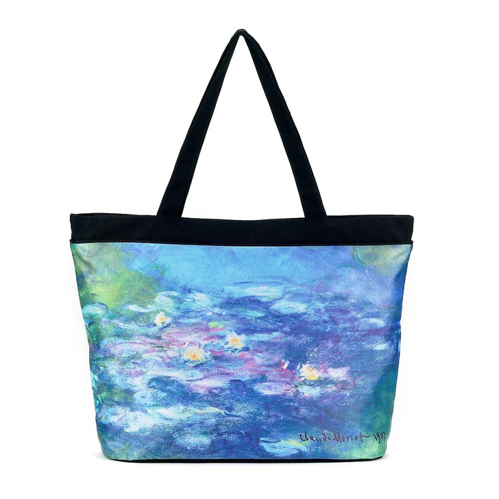 Monet, Water Lilies Tote Bag