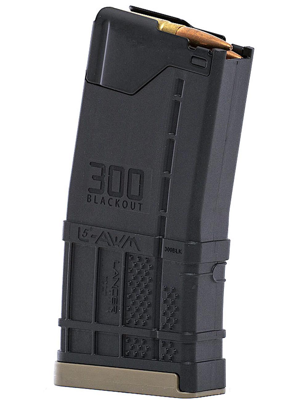 Lancer L5AWM 300BLK 20 Magazine (AR-15/Black)