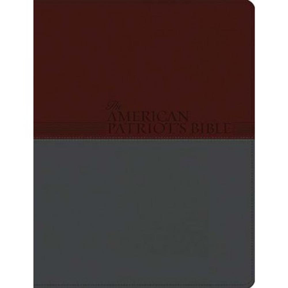 The KJV American Patriot's Bible (Leathersoft)