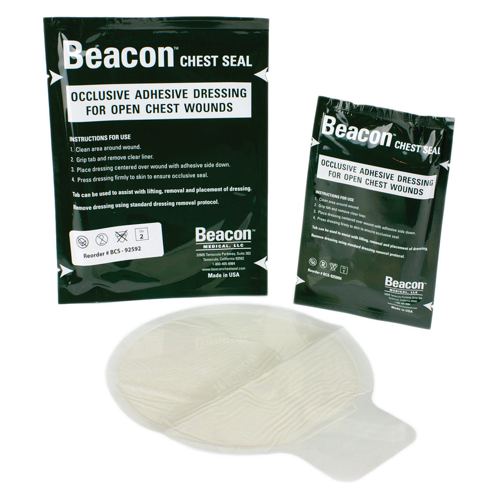 """Beacon Kit-Sized Chest Seal (6"""", Non-Vented)"""