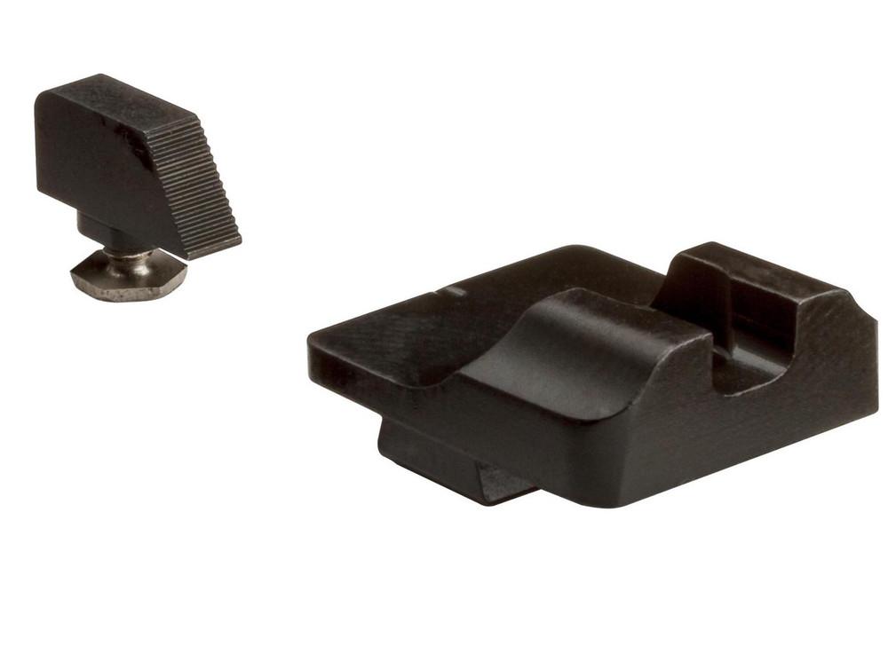 Warren Tactical Plain Steel Sight Set for Small Glocks (42/43/43X/48)