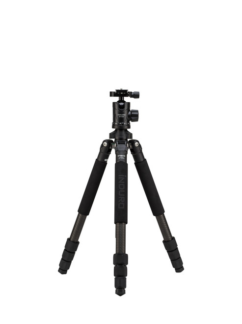 GTT204M2 Grand Turismo CF Tripod Kit, 2 Series, 4 Sections, BHM2