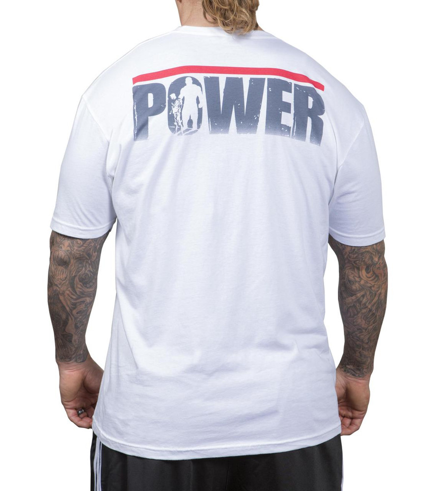 NFP Power T-Shirt White Men's - Back