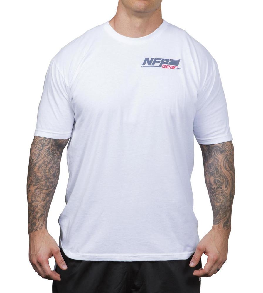 NFP Power T-Shirt White Men's - Front