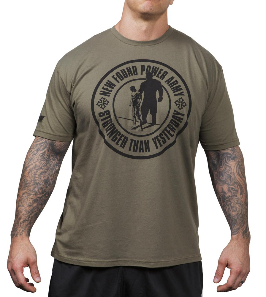 NFP Army T-Shirt - men's - Front