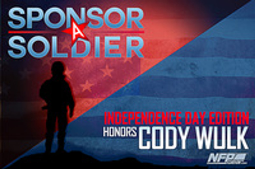 SPONSOR A SOLDIER WARRIOR RECOGNITION: Army Specialist Cody Wulk