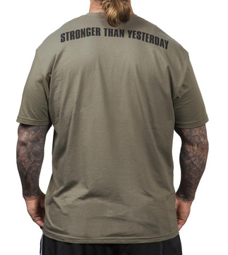 NFP Army T-Shirt - men's - Back