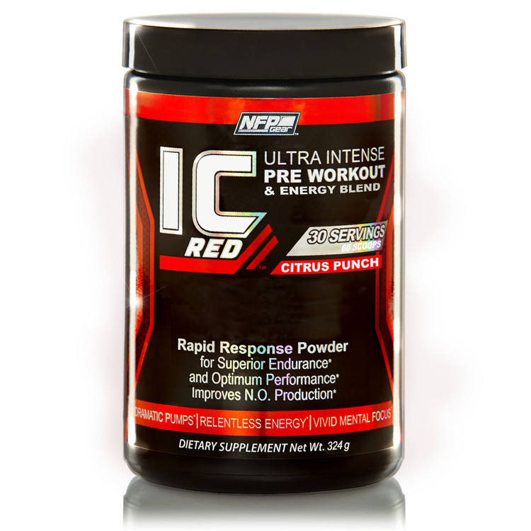 IC Red - Pre-Workout Citrus Punch