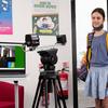 VIRALERT 3 Temperature Screening System - Scanning students at school