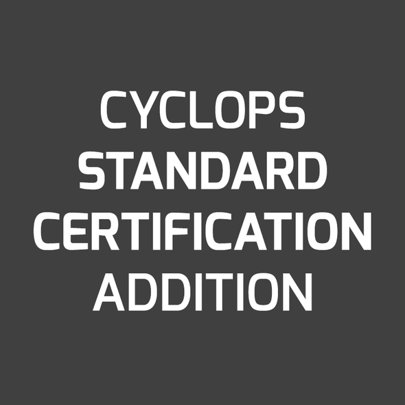 Standard Certificate of Calibration on New Instrument