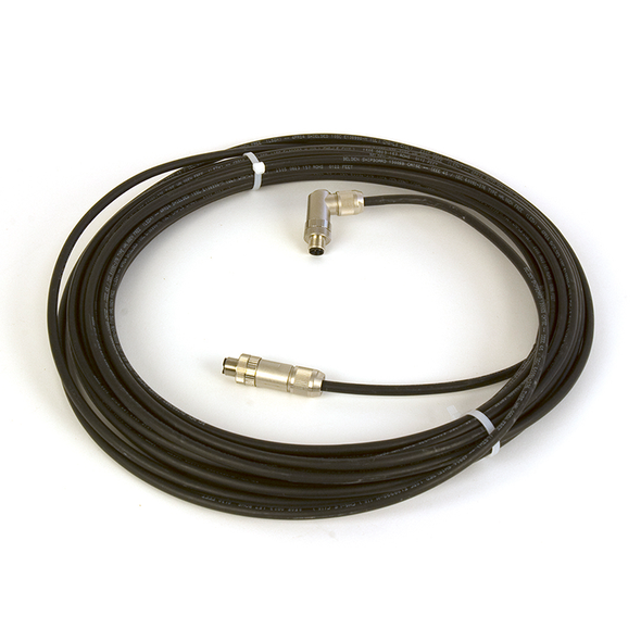 15m M12 to M12 Ethernet Cable - LT