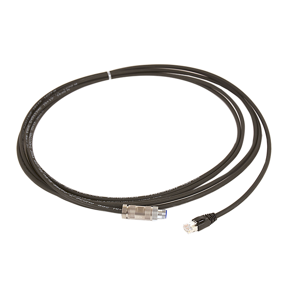 M12-RJ45 Cable 100m Straight Connector