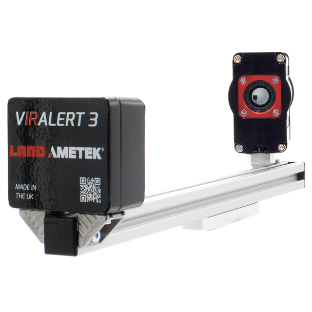 VIRALERT 3 Lite Temperature Screening System (no laptop) - High accuracy thermal imaging camera system designed for temperaure screening measurements with blackbody on single platform.