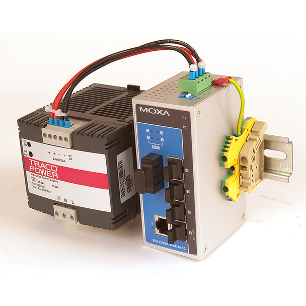 PoE Power Supply for Service Panel