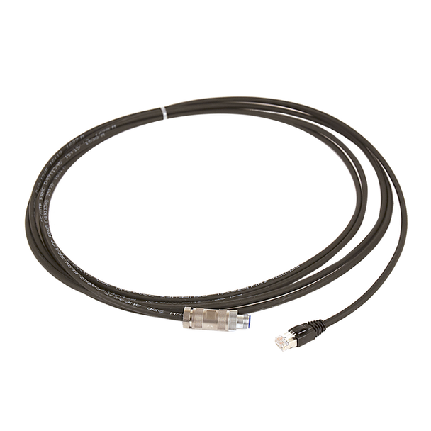 M12-RJ45 Cable 5m Straight Connector