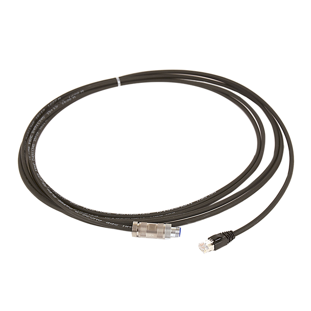 M12-RJ45 Cable 20m Straight Connector