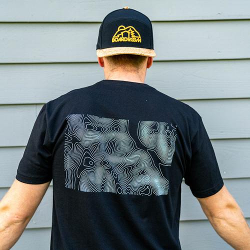 Ellicottville Topographic T-Shirt