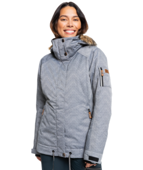 From a shred in the park with the girls to a run down the mountain with your crew, the Meade Snow Jacket of the Treeline Collection is a tailored short fit jacket that blends 10K ROXY DryFlight® technology with critically taped seams, ensuring a waterproof construction.