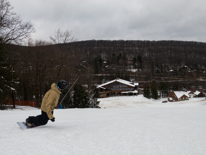 Holiday Valley Opening Day