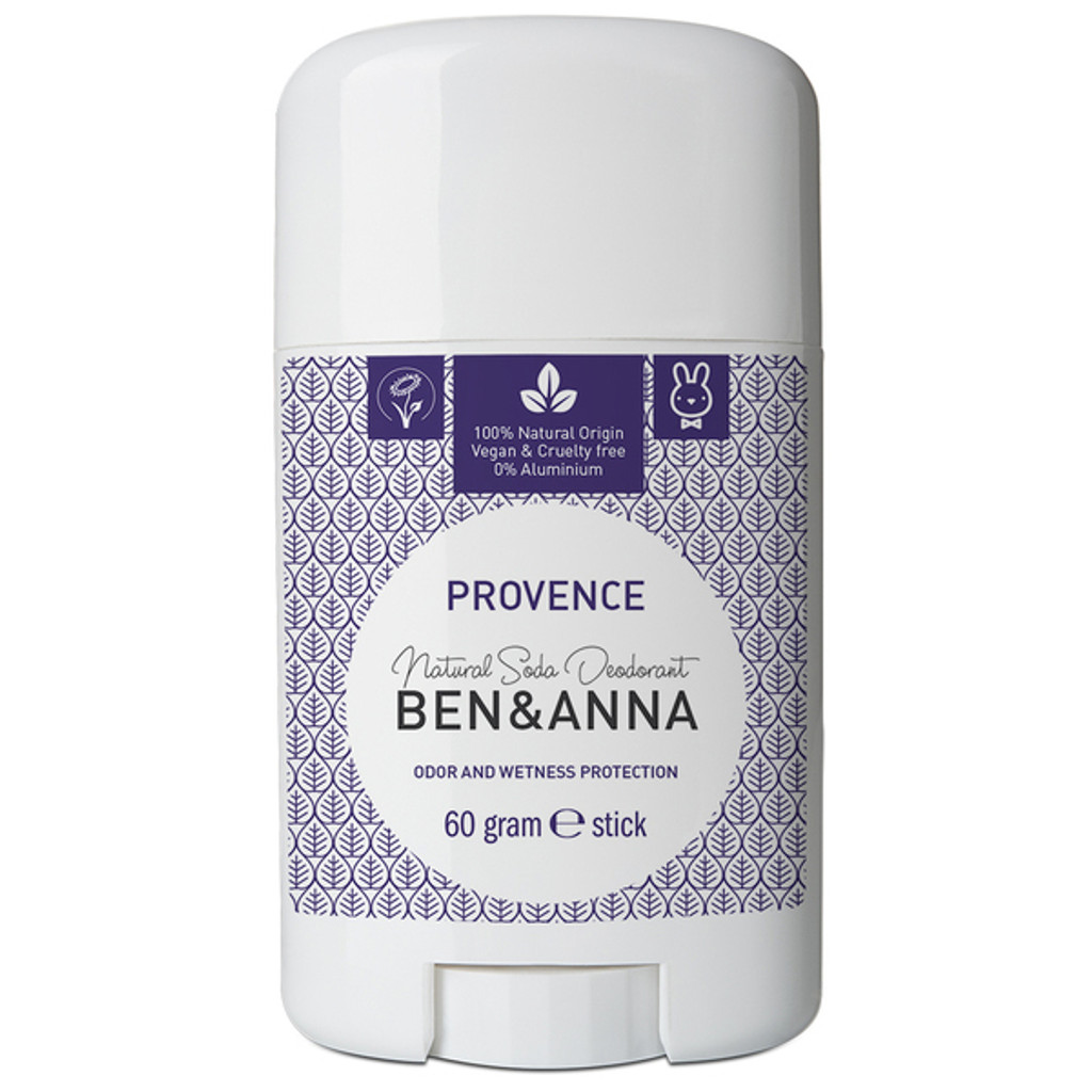 Natural Soda Deodorant Stick - Provence 60g