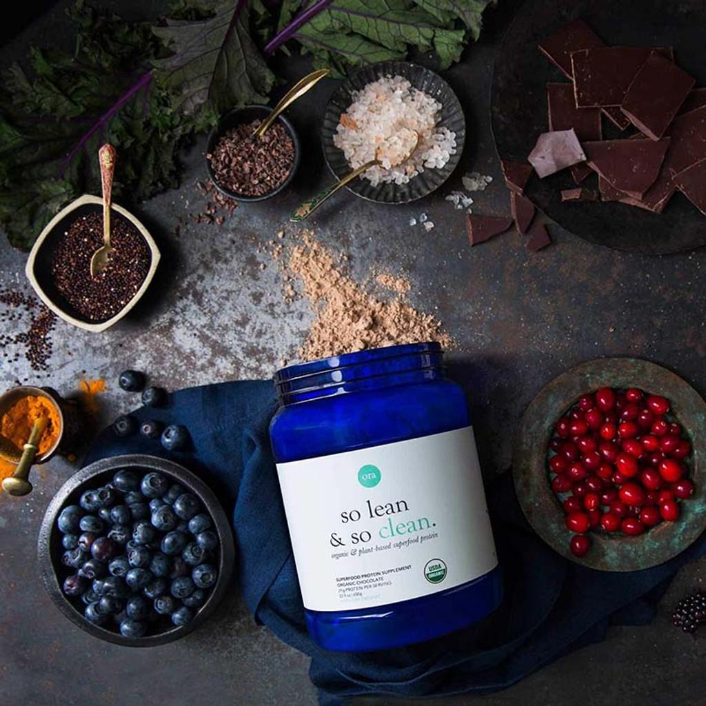 Organic Protein Powder (So Lean & So Clean) - Chocolate 650g