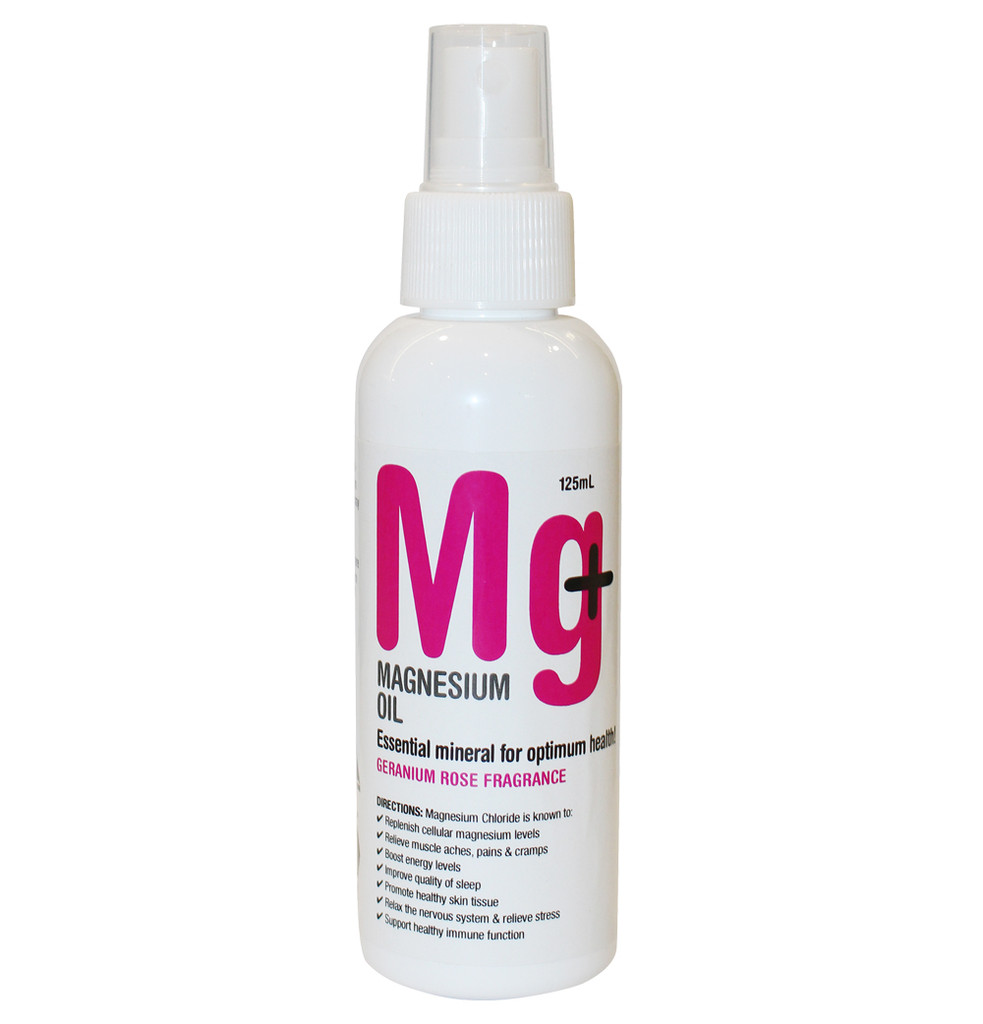 Magnesium Oil - Geranium Rose 125ml