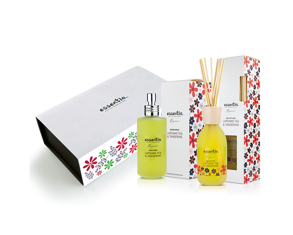 Home Fragrance Set- Lapsang Tea & Tangerine