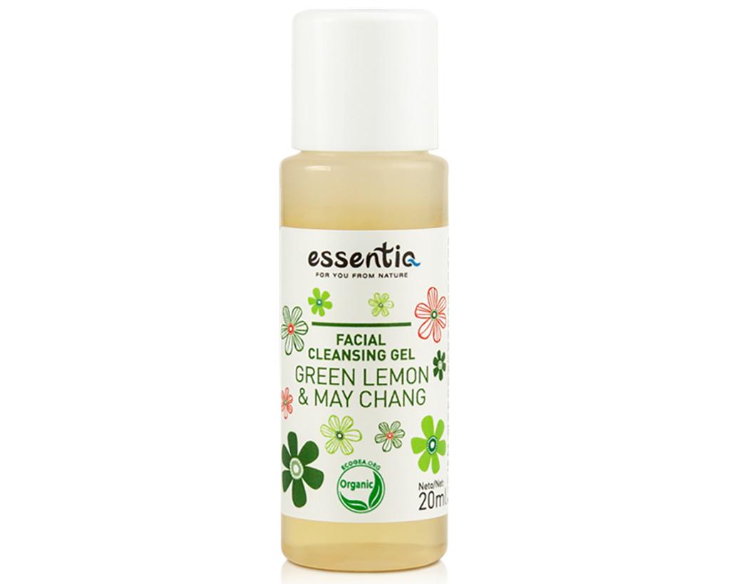 Neutral Facial Cleansing Gel – Green Lemon and May Chang 20ml (mini)