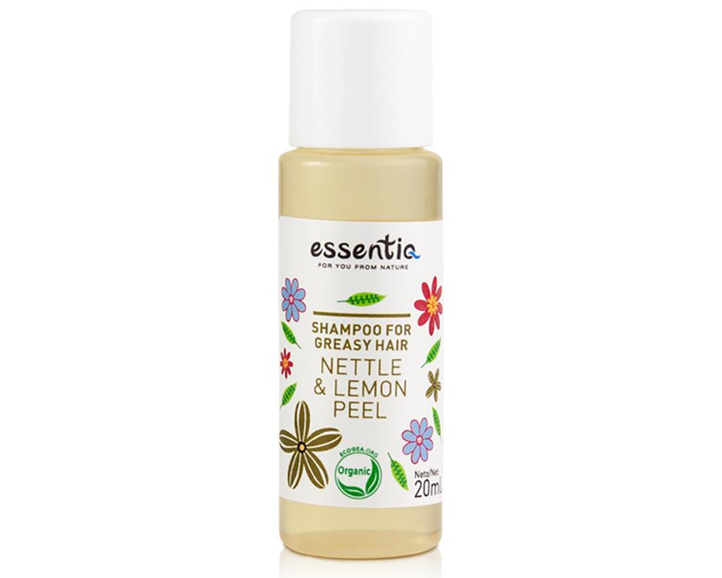 Shampoo for Greasy Hair Nettle & Lemon Peel 20ml (mini)