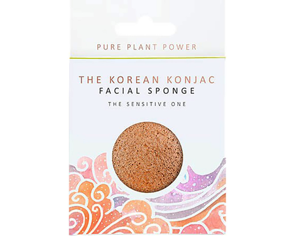 The Elements Air With Calming Chamomile & Pink Clay Full Size Facial Sponge