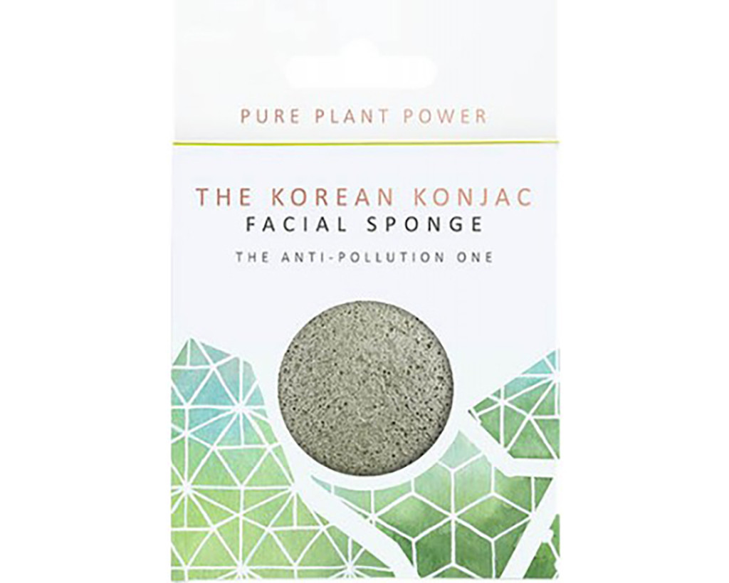 The Elements Earth With Energising Tourmaline Full Size Facial Sponge