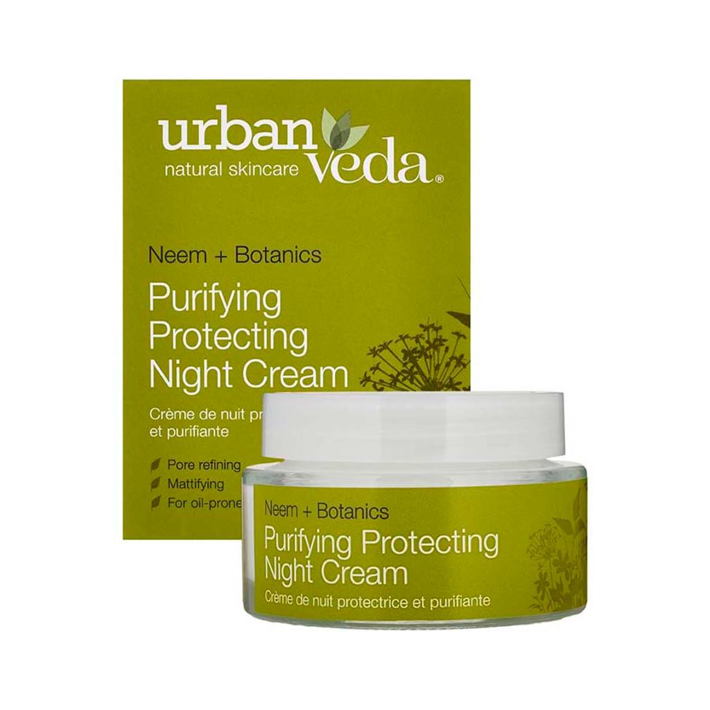 Purifying Protecting Night Cream - Neem + Botanics 50ml