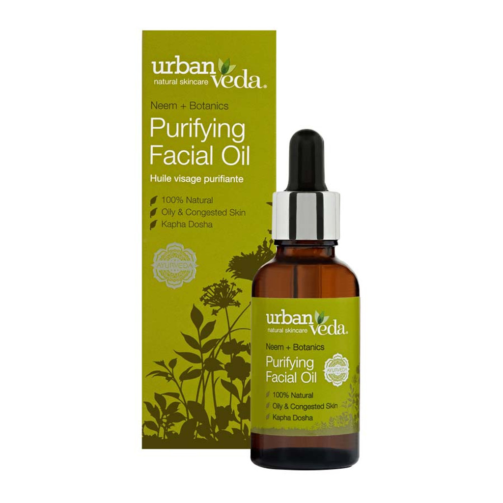 Purifying Facial Oil - Neem + Botanics 30ml