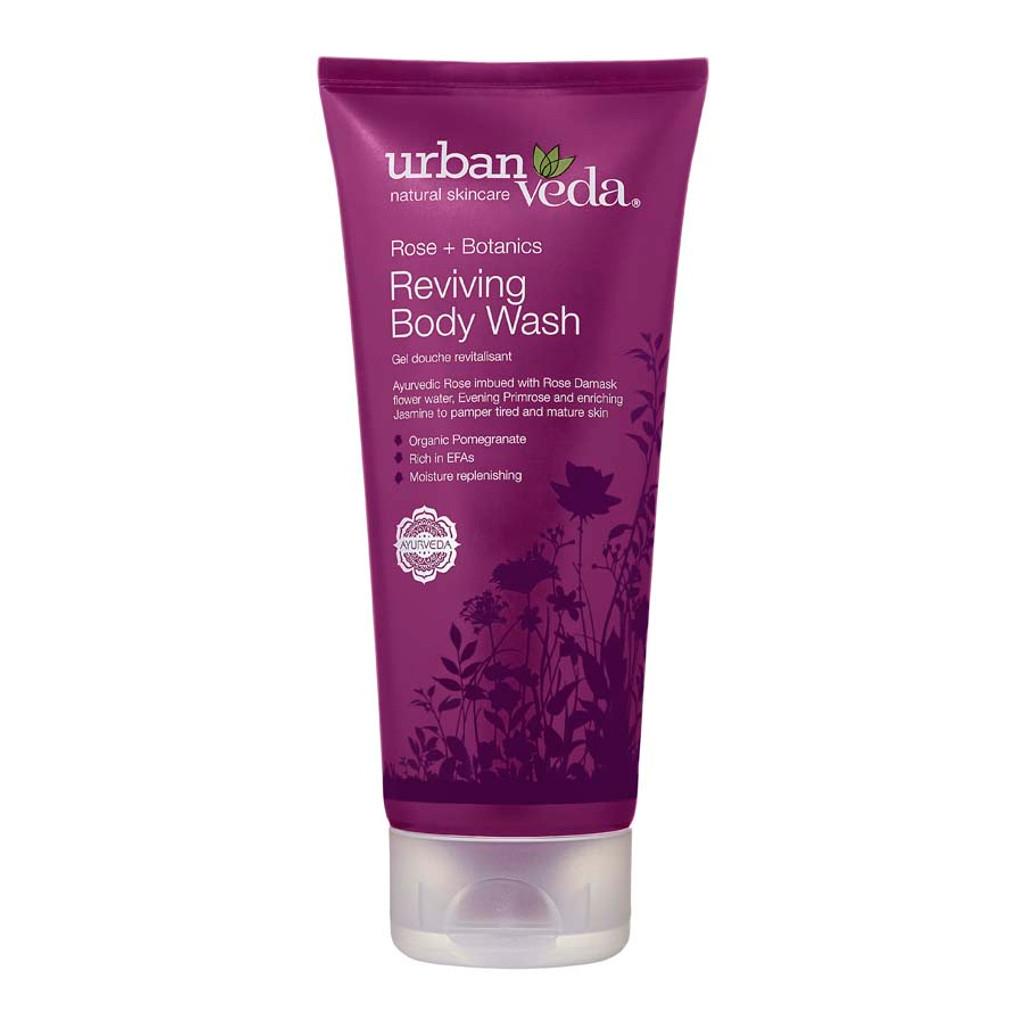 Reviving Body Wash - Rose + Botanics 200ml