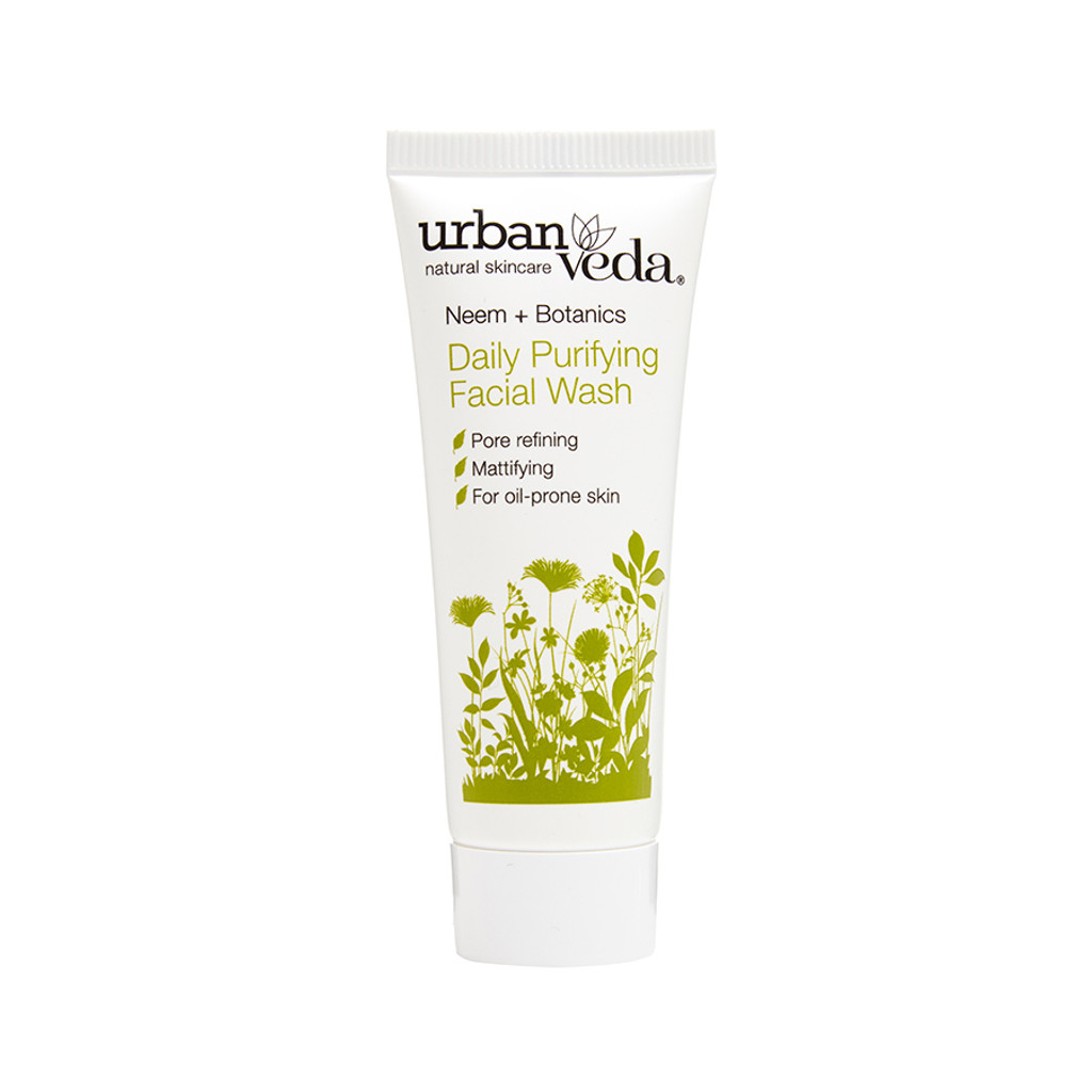 Daily Purifying Facial Wash - Neem + Botanics 20ml (Mini)