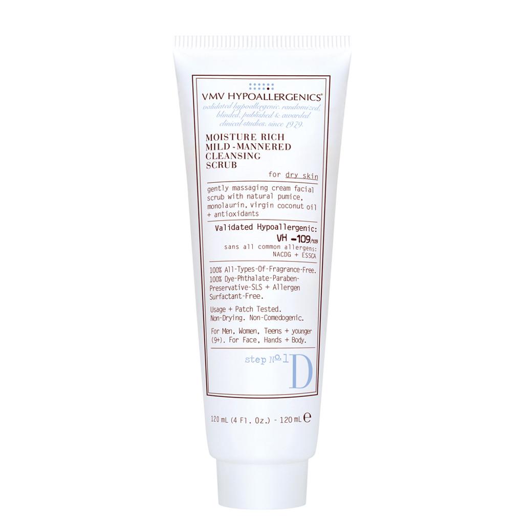 Moisture Rich Mild-Mannered Cleansing Scrub For Dry Skin 120ml