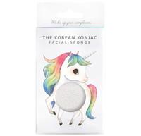 Mythical Prancing Unicorn Konjac Face Sponge & Hook - 100% Pure Konjac