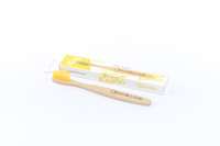 Kids Bamboo Toothbrush With Yellow Bristles