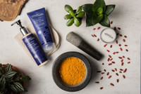 Radiance Body Scrub - Turmeric + Botanics 50ml (Mini)