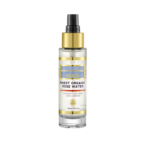 Finest Organic Rose Water- Alpha-3 Enriched 50ml