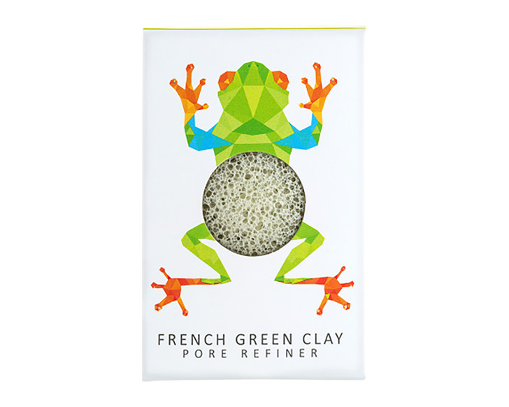 Konjac Mini Pore Refiner Rainforest Tree Frog