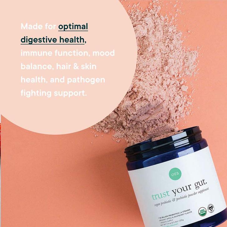 Organic Probiotics with Prebiotics Powder (Trust Your Gut) 225g