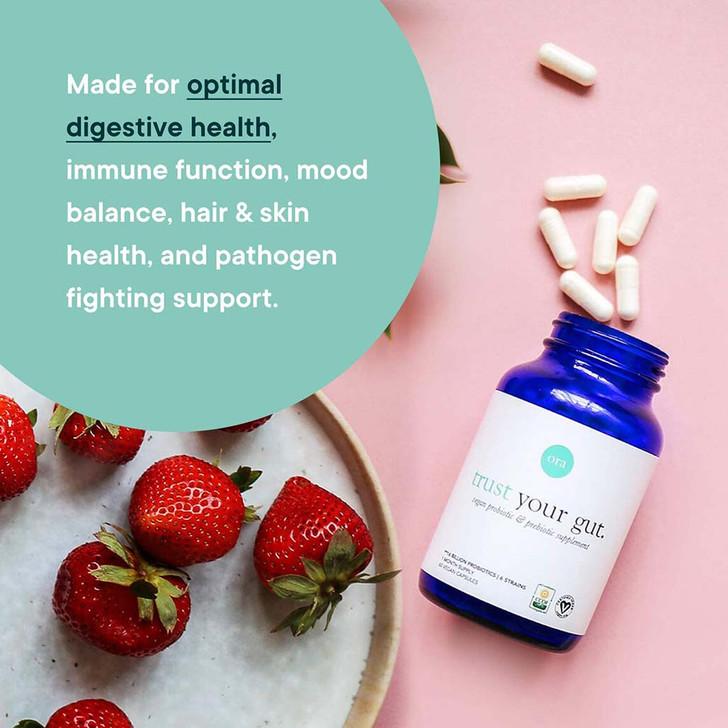 Vegan Probiotics with Prebiotics Capsules (Trust Your Gut) 60caps