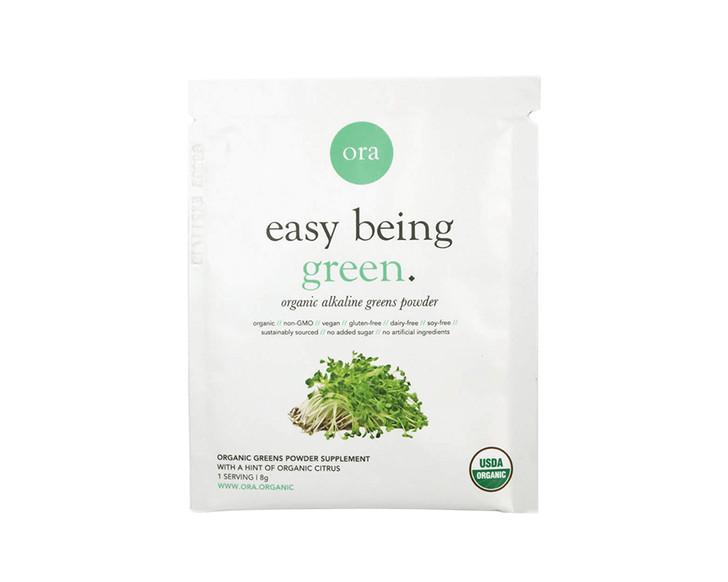 Organic Alkaline Greens Superfood Powder Sachet (Easy Being Green) 8g