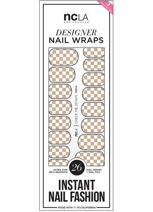 Check Me Down Nail Wrap